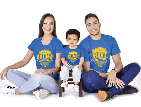 Hot Hotter Hottest Family With Baby Tees