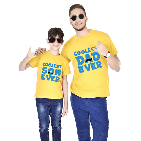 Coolest Son/Dad Ever Father And Son Tees
