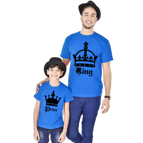 King/Prince Father And Son Tees