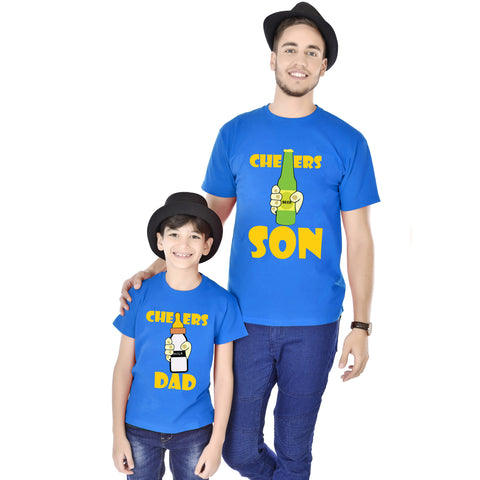 Cheers Son/Cheers Dad Father And Son Tees