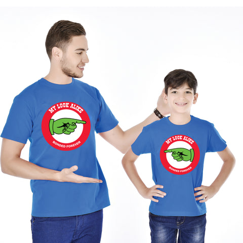 My Look Alike Father And Son Tees