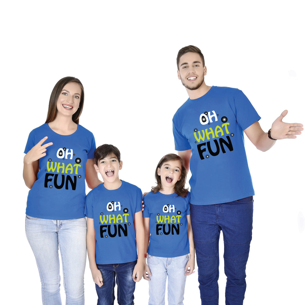 OH WHAT FUN!!! Family Tees