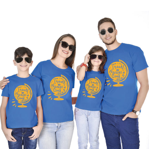 Travel Is Always A Good Idea Family Tees