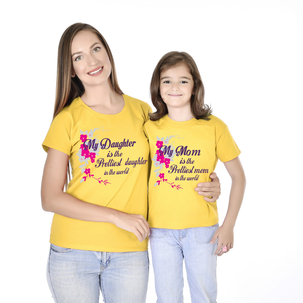 Prettiest Mom/Daughter In The World Tees