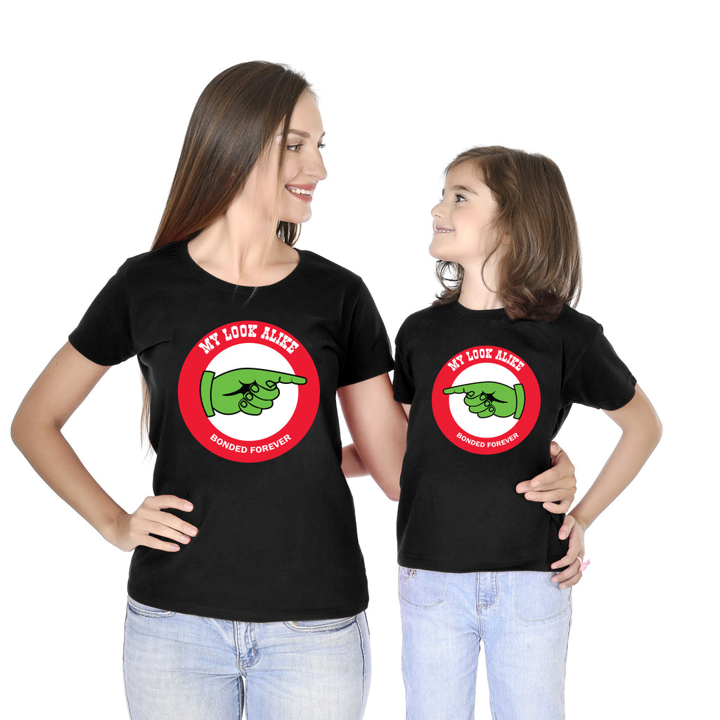 My Look Alike Mom Daughter Tees