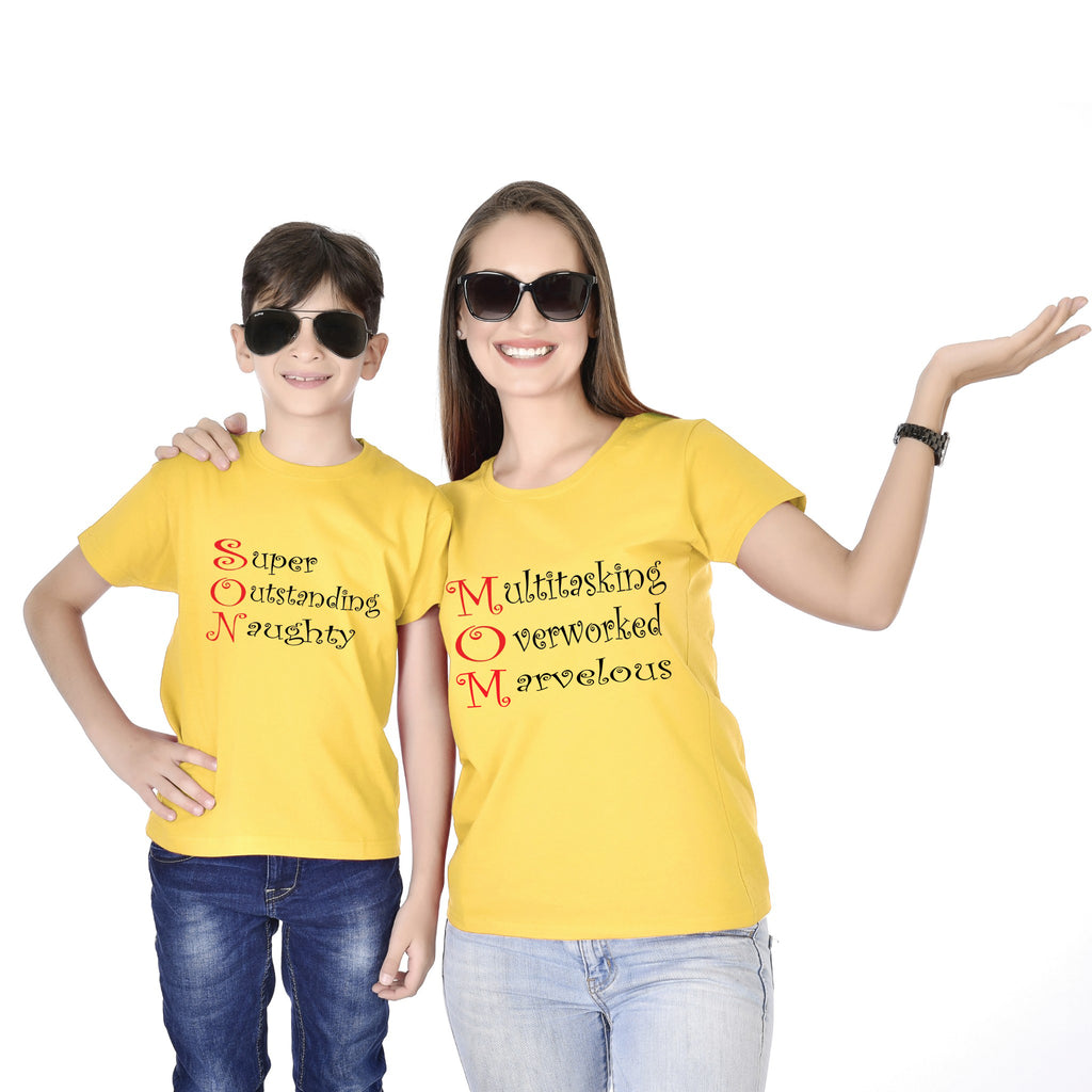 Mother Son Multitasking Tees