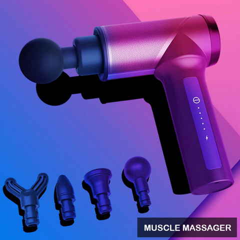 Deep Tissue Muscle Massager - Vibrating Body Massager
