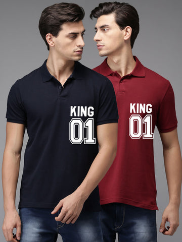 Men Polo Neck Tshirt Combo