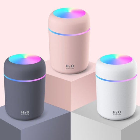Aromatherapy Air Purifier - Ultrasonic Oil Diffuser