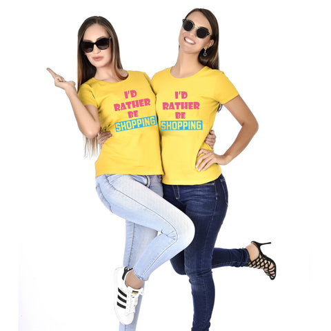 I'd Rather Be Shopping Sisters Tees