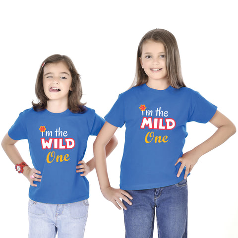 I Am The Wild One/I Am The Mild One Tees