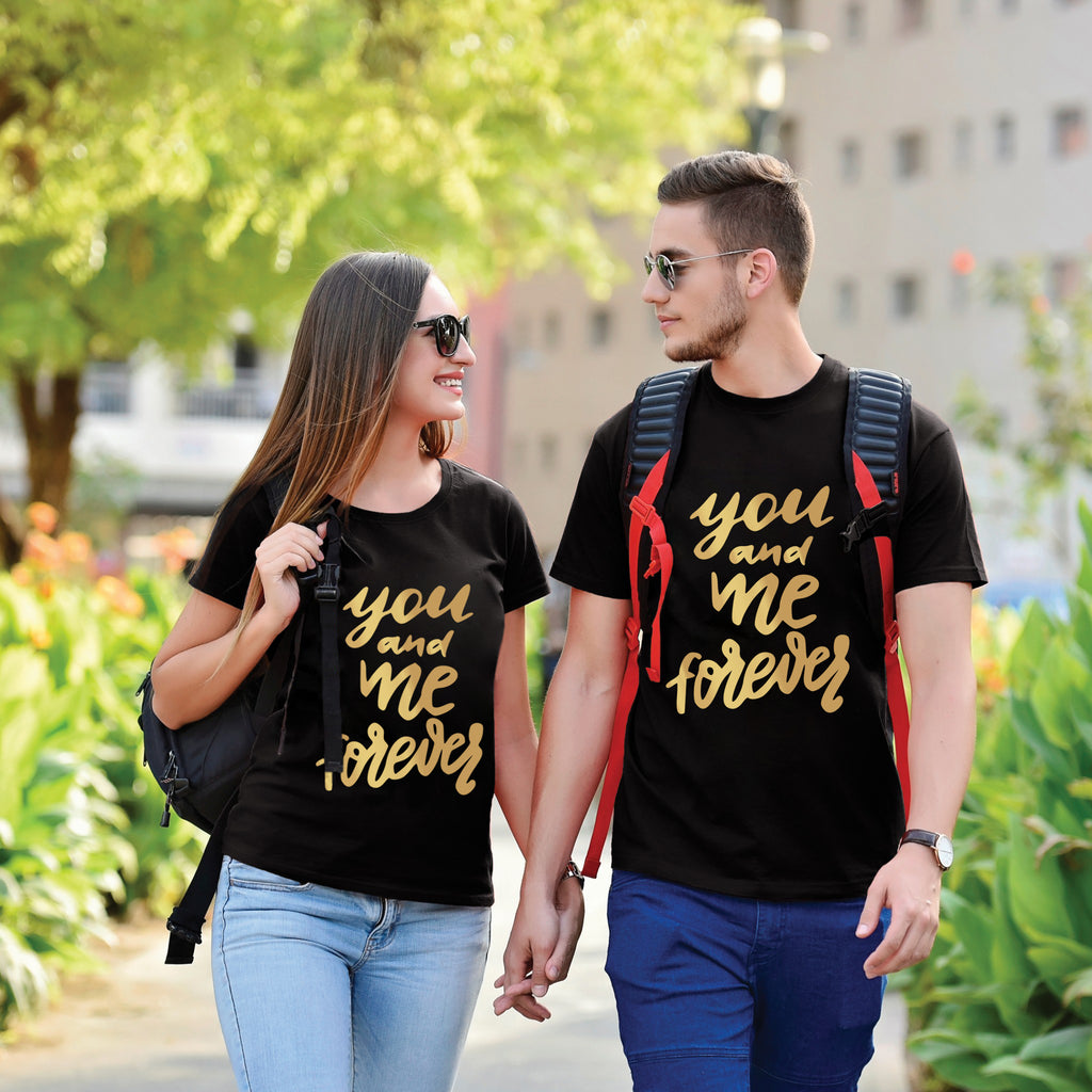You And Me Forever Valentines Day Tees