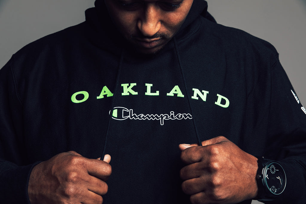 Champion x Oaklandish: Highlighter Collection