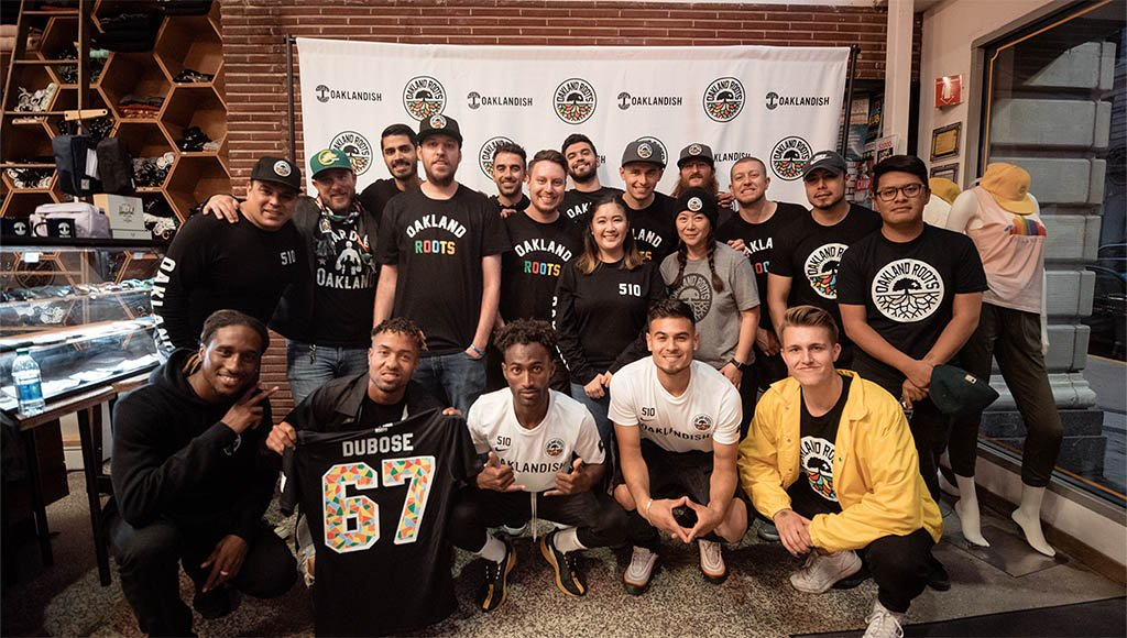 Oakland Roots Jersey Launch