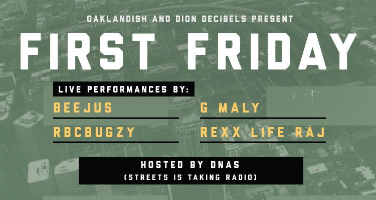 April First Friday: Beejus, G Maly, RBC Bugzy, Rex Life Raj