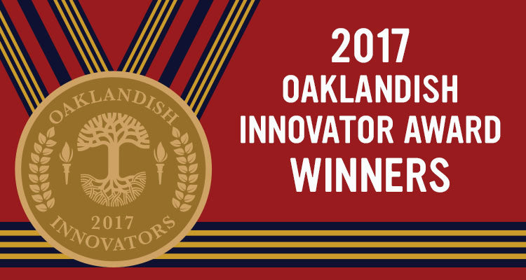 2017 Oaklandish Innovator Award Winners