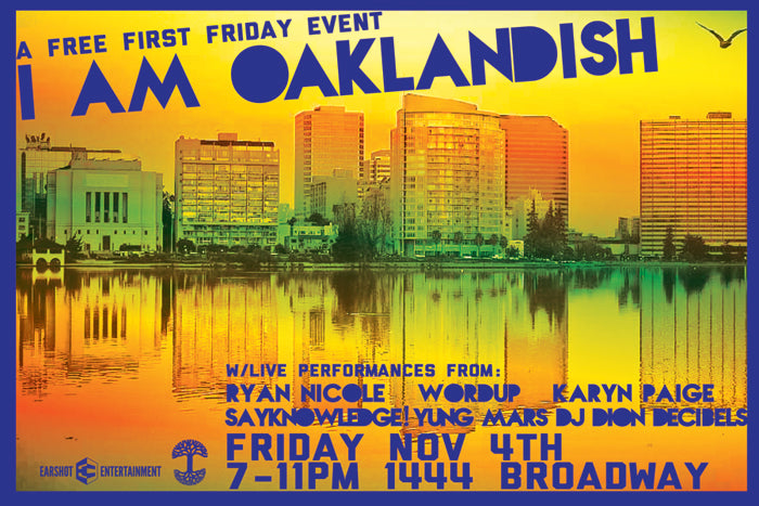 Celebrate First Friday 11/4 at Oaklandish!