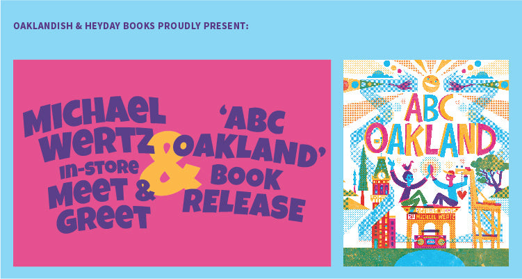 Michael Wertz 'ABC Oakland' in-store event