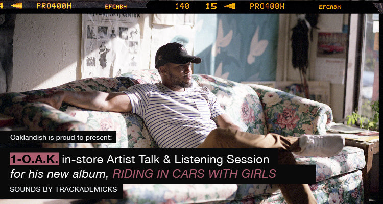 Artist Talk and Listening Session with 1-O.A.K.