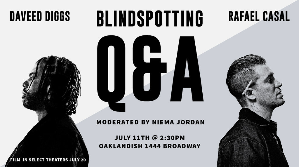 Blindspotting Q&A with Daveed Diggs and Rafael Casal