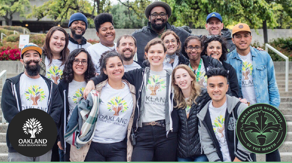 October Nonprofit of the Month: Oakland Ed Fund