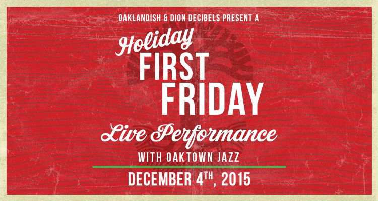 December First Friday: Live Jazz Downtown