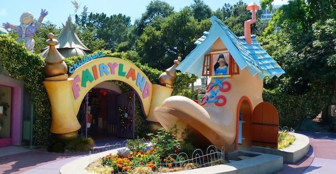 Fairyland For Grownups! Friday 9/30!