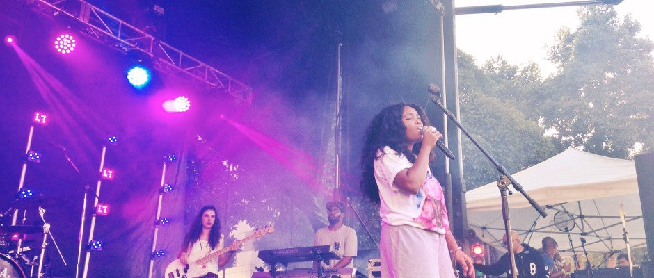 Oakland Music Festival: Q&A with SZA from The Town Stage