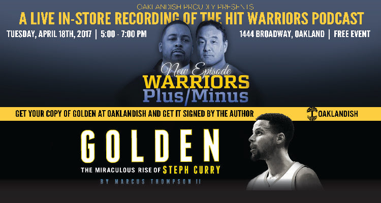 Special 'GOLDEN' edition of Warriors Plus/Minus podcast