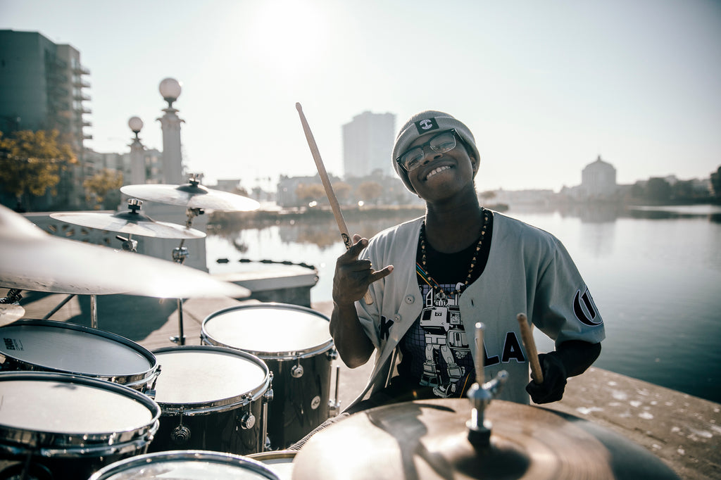 We are Oaklandish: Aaron Davis and his journey as a drummer