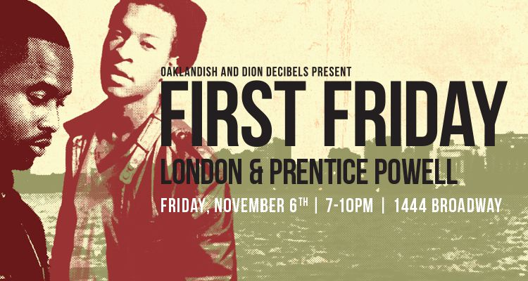 November First Friday: London + Prentice Powell