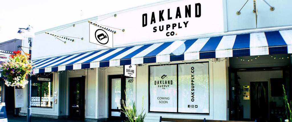 Oakland Supply Co. 3rd Anniversary Party May 13th!