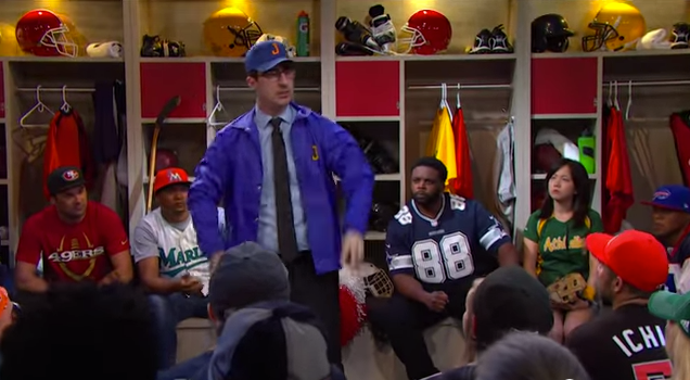 John Oliver talks Pro Sports in America