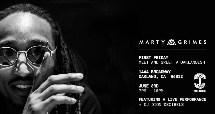 June First Friday: Marty Grimes