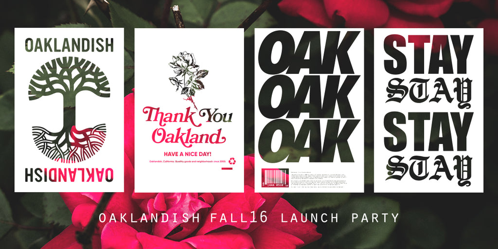 Oaklandish Fall 2016 Lauch Party