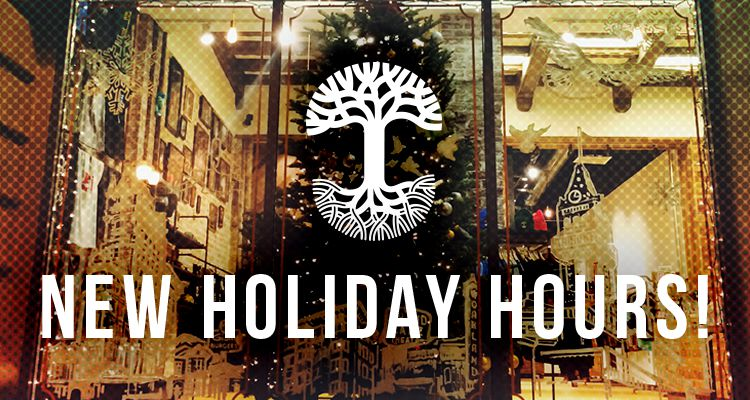 2015 Extended Holiday Hours