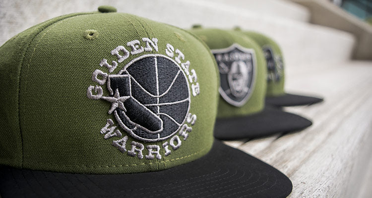 New Product Spotlight: New Era Rifle Green Team Snapbacks