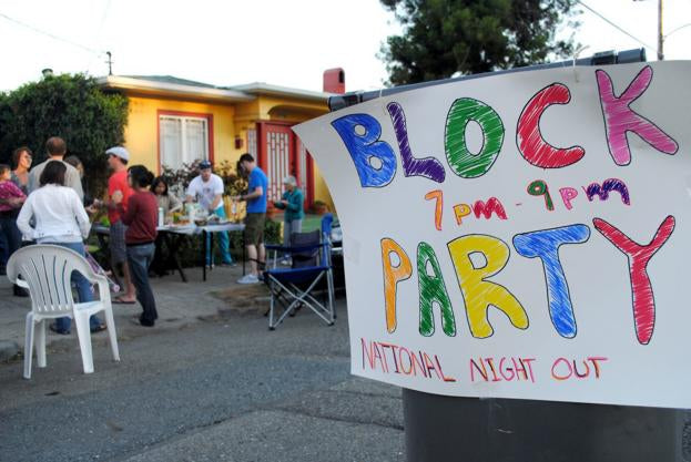 August 4th is National Night out in Oakland!