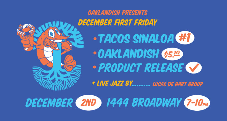 December First Friday: Live Jazz & Tacos Sinaloa