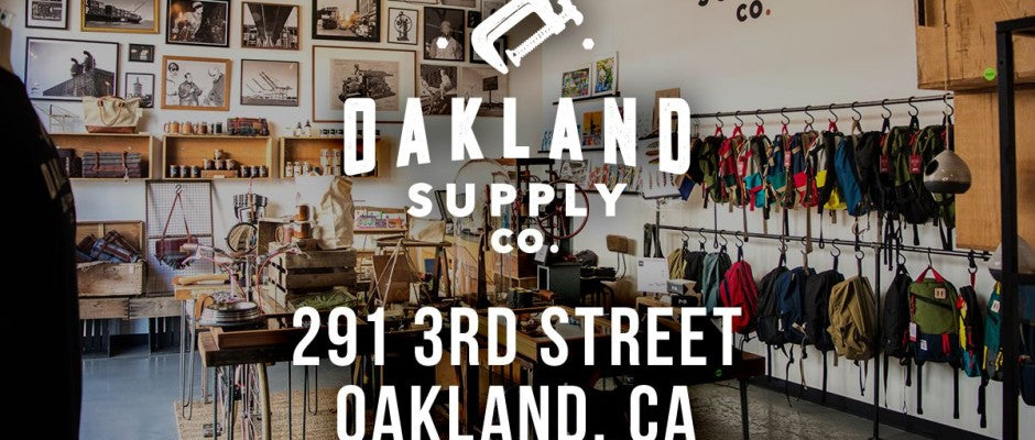 Oakland Supply Co. Showcases Quality American-Made Goods