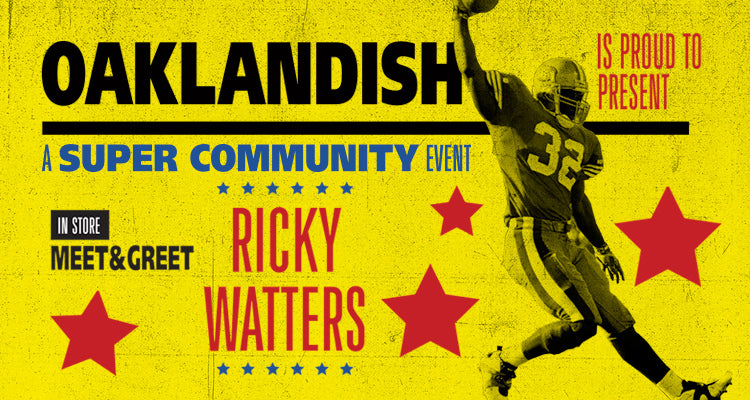 Ricky Watters Meet and Greet Recap