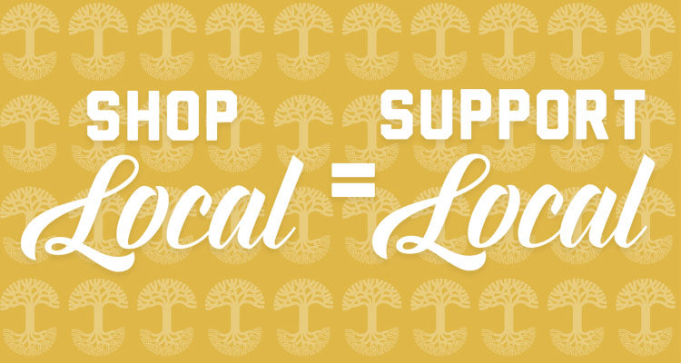 #shoplocal = #supportlocal