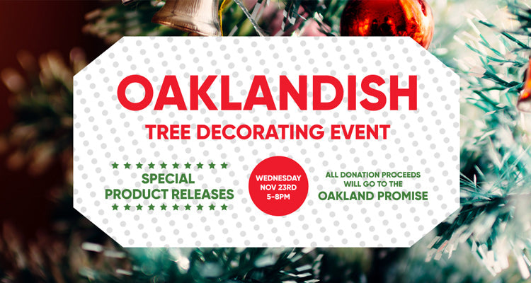 Tree Decorating at Oaklandish