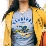 Women's Thunder School Tee | Warriors X Oaklandish