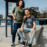 Oaklandish Classic Logo Tee - Army Green Cotton