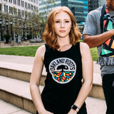 Women's Roots SC Classic Tank - Black Cotton