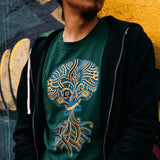 T-shirt | Cotton Unisex | Forest | Urban Aztec Jesse Hernandez
