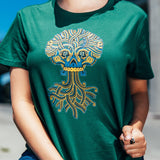 T-shirt | Cotton Women | Forest | Urban Aztec Jesse Hernandez