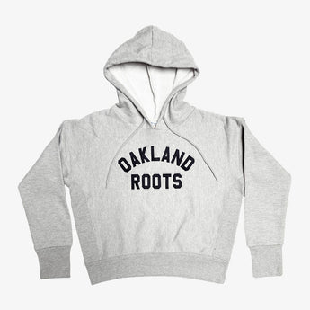 Hoodie - Women's Champion Oakland Roots, Oxford Grey
