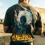 t-shirt-agana oakland graffiti artist-oaklandish-black stonewash-cotton